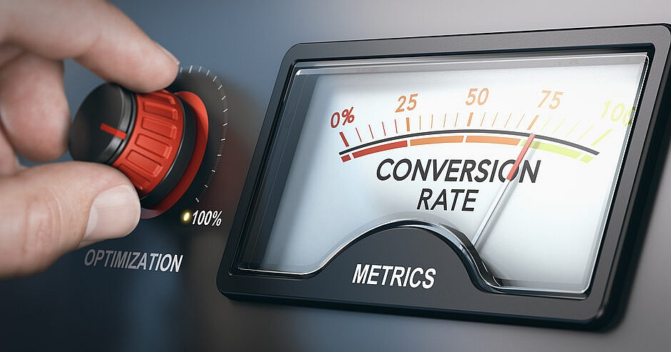 Conversion rate through content